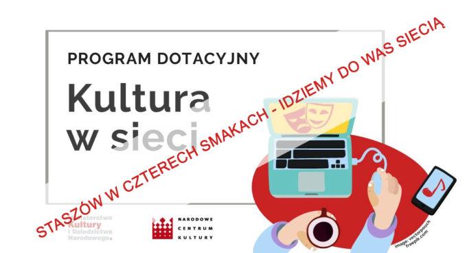 """Rusza pierwszy projekt """"Kultura w sieci"""""""