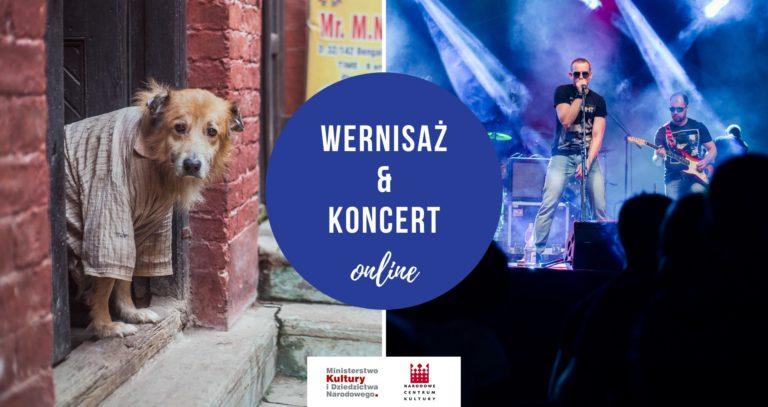 M. Szczoczarz – wernisaż wystawy & Immunitet – koncert. 18 czerwca