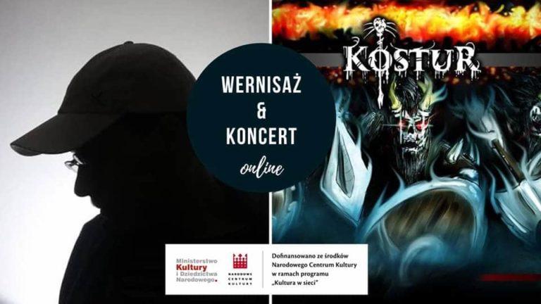 Wernisaż Karol Szulc i koncert Kostur – 30 lipca