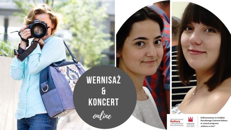Wernisaż Anna Kurgan i koncert Klub Piosenki RYTM – 16 lipca