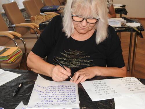 Warsztaty kaligraficzne