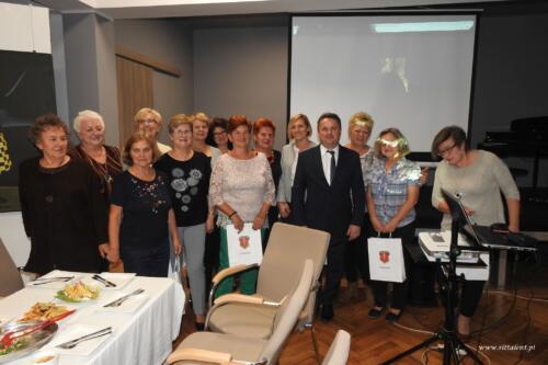 Spotkanie zorganizowane po Przeglądzie Kultury Seniorów