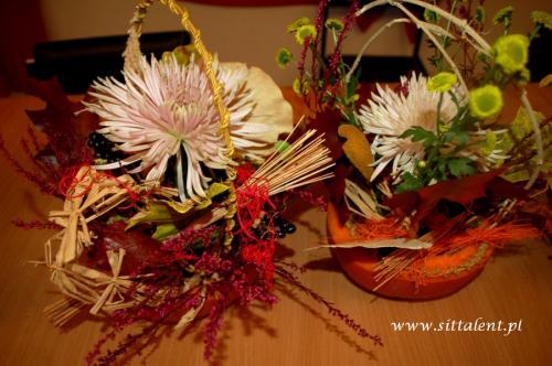 Warsztaty florystyczne - SMAKI TRADYCJI - LGD Białe Ługi