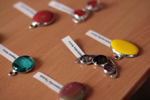 Warsztaty biżuterii szklanej - WSZĘDZIE RAZEM - Działaj Lokalnie X - październik `17